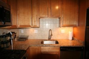 Recently updated kitchen.